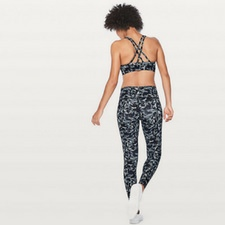 embellished multi print wunder under tight and energy bra lululemon