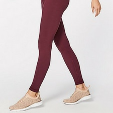 WUNDER UNDER TIGHT HI-RISE BORDEAUX